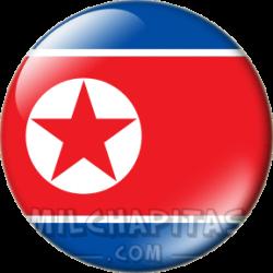 Bandera de Corea del Norte
