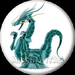 Armadura Dragón reparada
