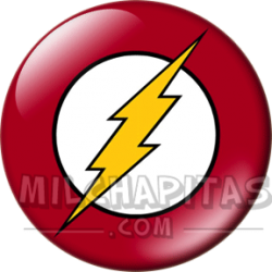 Logo superhéroe Flash