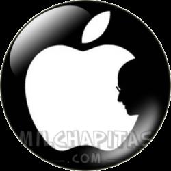 Apple 00 Silueta Jobs