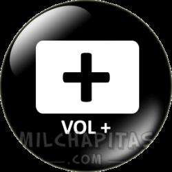Botón más volumen