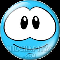 Puffle azul