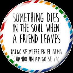Algo se muere en el alma...