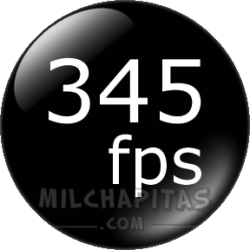 345 fps