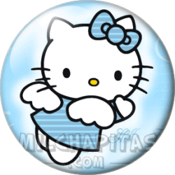 Hello Kitty celeste