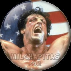 Rocky con bandera