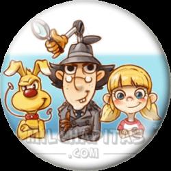Caricatura Inspector Gadget