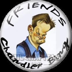 Caricatura Chandler