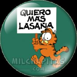 Garfield quiere mas lasaña