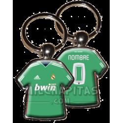 Llavero camiseta R.Madrid...