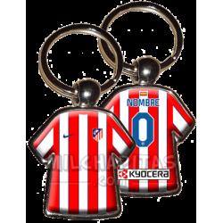 Llavero camiseta Atl.Madrid...