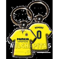 Llavero camiseta Villarreal...