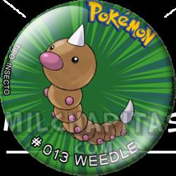 013 Weedle