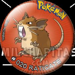 020 Raticate