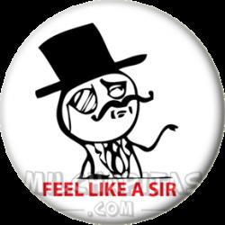 Feel like a sir Meme